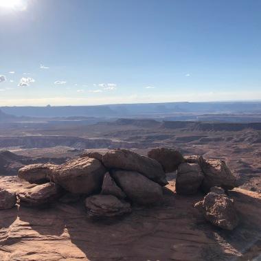 View towards Murphy Ridge