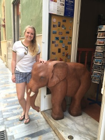 Cute elephant right?!